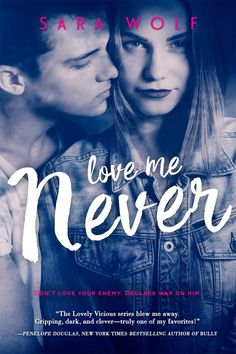 Cover Reveal: Love Me Never by Sara Wolf - On sale April 5, 2016! #CoverReveal
