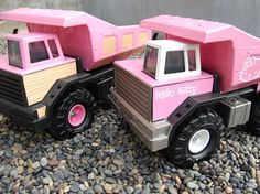 Customize a Tonka Truck: Who said that a Tonka Truck had to be yellow?