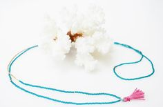 Mykonos Plain Tassle Necklace