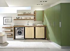 Come organizzare la lavanderia in bagno.