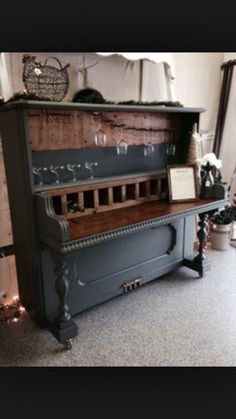 36 Best Piano wine bar images | Piano, Old pianos, Bars for home