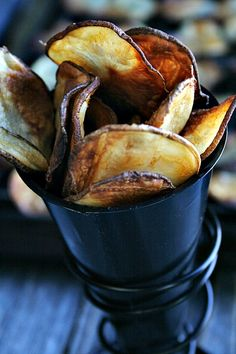 Baked Buffalo Style Potato Chips