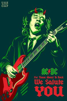 Angus Young by yusuf-creactive