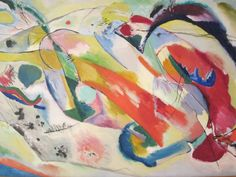 Painting with Green Center, Wassily Kandinsky, 1913, The Art Institute of Chicago