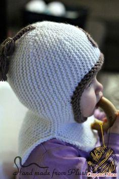 *МК-Описание вязания для шлема