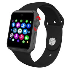 Bluetooth Smartwatch Wristwatch 2.5D ARC HD Screen Support SIM Card Wearable Devices Smart Watch Phone GSM Pedometer Fitness Tracker For IOS Android >>> Review more details here : Travel Gadgets