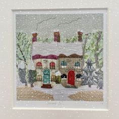 Free Motion Embroidery, Felt Embroidery, Free Motion Quilting, Embroidery Patterns, Machine Embroidery, Christmas Card Crafts, Christmas Templates, Christmas Decorations To Make, Christmas Projects