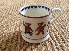 Teddies (Blue) Baby Mug 1986-1988 (Discontinued)