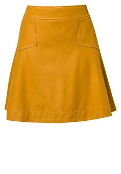 Sisley A-snit nederdel/ A-formede nederdele - gul - Zalando.dk