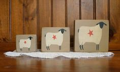 Hey, I found this really awesome Etsy listing at http://www.etsy.com/listing/90937909/wooden-prim-sheep-blocks-sitters-shabby