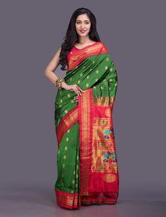 Pallavi Paithani Silk Saree