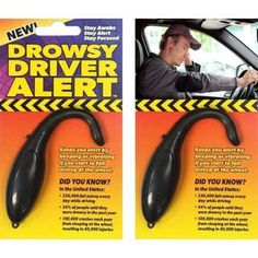 Drowsy Driver Alert (Pack of 2) - Overstock™ Shopping - Big Discounts on Sale