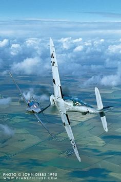 Dogfight FW-190 vs P-51