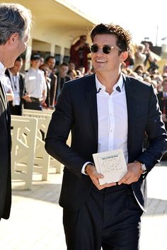 Pin for Later: 20 Hot Pictures of Orlando Bloom That Will Make You Fall in Love With Him All Over Again
