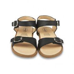 Zwarte sandalen 'Nevana' - Old Soles