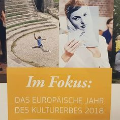 Europäisches Kulturerbejahr 2018. TERMINE in Deutschland: European Cultural Heritage Summit im Juni in Berlin  denkmal (Messe) im November in Leipzig #EIZRostock #kultur #sharingheritage #li #2018