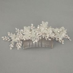 Phlox Hair Slide Pictured in Pale Blue £142