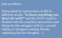 INTP problems