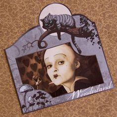FREE Printable Alice in Wonderland Photo Frame