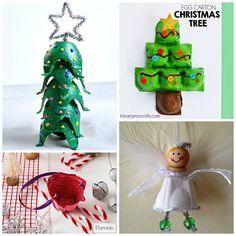 Christmas/Winter Egg Carton Crafts for Kids - Crafty Morning Kids Crafts, Childrens Christmas Crafts, Christmas Crafts For Toddlers, Christmas Crafts To Make, Toddler Christmas, Crafts For Kids To Make, Toddler Crafts, Christmas Projects, Kids Christmas