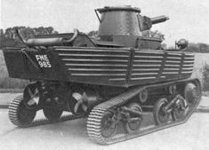 Amphibious Light Tank, L1E3 • Tanks in World War 2