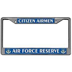 Automotive License Plate Frame, Slim License Plate Frame 2 Holes U. Coast Guard Rescue Swimmer License Plate Frame Fits Standard US License Plates with Screw Caps