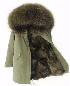 Just In Women's Fox Fur W... Shop Now! http://www.shopelettra.com/products/womens-fox-fur-winter-parka?utm_campaign=social_autopilot&utm_source=pin&utm_medium=pin