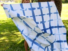 In browsing a few of my favorite stores recently I've noticed a lot of indigo or shibori dyed clothing and home goods. It's an old traditional Japanese dying technique of twisting, folding, and binding fabric before adding dye that dates back to the 8th century (precursor of 80s tie dye!). Blue and white have long …