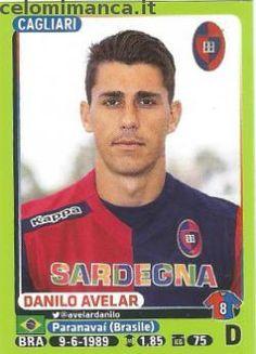 Calciatori 2014-2015: Fronte Figurina n. 37 Danilo Avelar