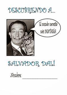 Spanish Art, Spanish Class, Teaching Spanish, Teaching Art, Spanish Culture, Middle School Art, Art School, Dali Tattoo, Salvador Dali Art