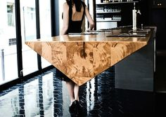 20 Of The Most Unique Desk and Table Designs Ever - 4 Prism Bar 1