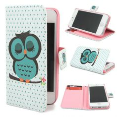 Leathlux Owl Design #Wallet PU Leather Flip Case Cover for Apple iPhone 5 5S Roundup of Adorable #iPhone #Covers http://www.webdesign.org/roundup-of-adorable-iphone-covers.22416.html