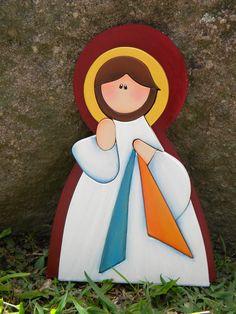 Jesus de la Misericordia pieza en MDF
