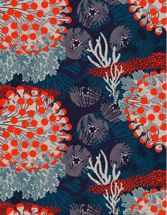 Colourful underwater landscapes – Merivuokko by Marimekko