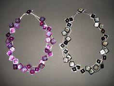 Collane con bottoni in diversi colori