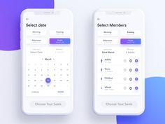Select data and members