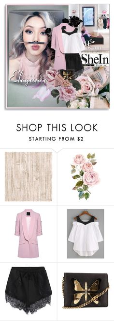 """""""Shein-White Contrast"""" by shinee-pearly ❤ liked on Polyvore featuring Marissa Webb and Gucci"""