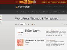 WordPress - gratis themes downloaden op ThemeForest.