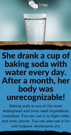 Minion Scoop: She drank a cup of baking soda with water every day. After a month, her body was unrecognizable! Metabolic Acidosis, Peptic Ulcer, Drinking Lemon Water, Natural Homes, Budgeting Money, Oral Hygiene, Natural Home Remedies, Health Problems, Metabolism