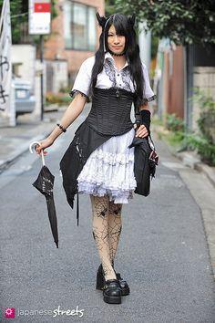 Japanese street fashion in Harajuku, Tokyo (MAD GIRL, Bodyline, h.Naoto, w.p.c, Bunka, LAPIS LAZUMI)