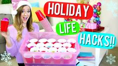 20 DIY Holiday Life Hacks!! Alisha Marie>>I wish I had seen this sooner.........well I can use it for next Christmas!!