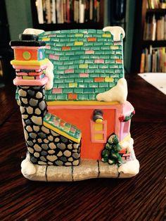 #christmasvillage #ceramicpainting #gingerbreadbakery #bakery #sideview