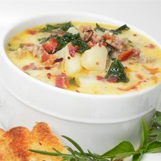7 Popular Copycat Soups To Make At Home | Your favorite soups from Panera, Olive Garden, Applebees and Chiles.