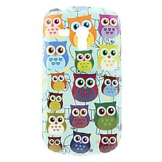 Uil patroon Hard Case voor Samsung Galaxy S3 Mini I8190 – EUR € 3.99