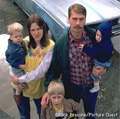 Did you know homelessness can look like this? They appear to be the ideal American family; mom, dad and 3 young children. But what does the ideal homeless person look like in America's imagination? I'm sure the majority of white people would imagine a person of color when asked that question.