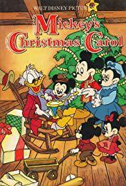 Mickey S Christmas Carol Poster En 2021 Navidad Disney Villancico De La Navidad Carteles De Disney