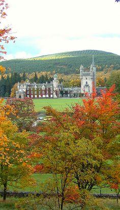 Balmoral Castle in Royal Deeside, Aberdeenshire, Scotland
