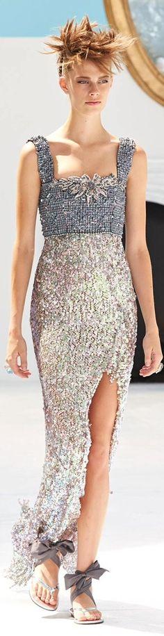 #Chanel - Haute Couture 2014/15 FW August 2014 via my Chanel Newsletter#Luxurydotcom