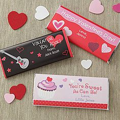 Sweet As Can Be Personalized Candy Bar Wrappers. personalizationmall.com
