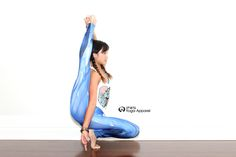 'Blue Gamma' yoga pants :) #ipwnyoga #leggings